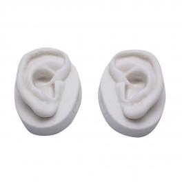 Ανατομικό μοντέλο αυτιών από σιλικόνη (ζευγάρι) - 7,5 cm